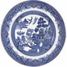 Buy Churchill Blue Willow Salad Plate 20cm at Louis Potts