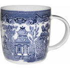 Buy Churchill Blue Willow Mug at Louis Potts