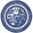Buy Churchill Blue Willow Side Plate 17cm at Louis Potts