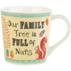 Buy Churchill Bramble & Rocket Collection Bramble & Rocket Mug Our Family Tree at Louis Potts