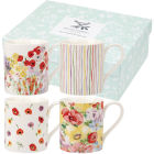 Buy Collier Campbell Collier Campbell Mug Small Painted Garden Set of 4 at Louis Potts