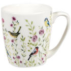 Buy Churchill Queens Mugs Mug Acorn Aquarelle Bird Watch Pink at Louis Potts