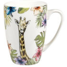 Buy Churchill Queens Mugs Mug Alchemy Reignforest Giraffe at Louis Potts