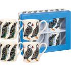 Buy Churchill Queens Mugs Mug Birds Set of 4 at Louis Potts