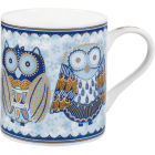 Churchill Queens Mugs Mug Blue Story Night Owls