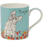 Buy Churchill Queens Mugs Mug Companions Bonjour at Louis Potts