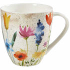 Buy Churchill Queens Mugs Mug Large Aquarelle Bloom at Louis Potts