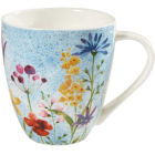 Buy Churchill Queens Mugs Mug Large Aquarelle Bouquet at Louis Potts