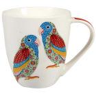 Buy Churchill Queens Mugs Mug Large Love Birds at Louis Potts