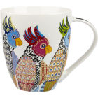 Buy Churchill Queens Mugs Mug Large Perching Parakeets at Louis Potts