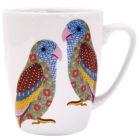 Buy Churchill Queens Mugs Mug Oak Paradise Birds Love Birds at Louis Potts
