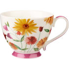 Buy Churchill Queens Mugs Mug Petal Classic Summer Meadow Cerise at Louis Potts