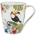 Buy Churchill Queens Mugs Mug Reignforest Toucan at Louis Potts