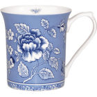 Buy Churchill Queens Mugs Mug Small Blue Story Albertine at Louis Potts