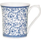 Buy Churchill Queens Mugs Mug Small Blue Story Arabesque at Louis Potts