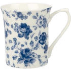 Buy Churchill Queens Mugs Mug Small Blue Story Blooms at Louis Potts