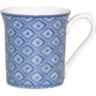 Buy Churchill Queens Mugs Mug Small Blue Story Stucco at Louis Potts