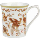 Buy Churchill Queens Mugs Mug Small Peacock Copper at Louis Potts