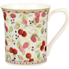 Buy Churchill Queens Mugs Mug Small Summer Chintz Cherry at Louis Potts