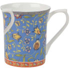 Buy Churchill Queens Mugs Mug Small Trailing Blooms Blue at Louis Potts