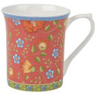 Buy Churchill Queens Mugs Mug Small Trailing Blooms Red at Louis Potts