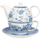Buy Churchill Queens Mugs Tea For One Blue Story at Louis Potts