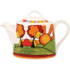 Buy Churchill Queens Mugs Teapot Clarice Cliff Sunburst at Louis Potts