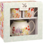 Buy Collier Campbell Collier Campbell Tea For Two Set Painted Garden at Louis Potts