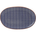 Buy Creative Tops Drift Serving Platter Blue at Louis Potts