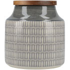 Buy Creative Tops Drift Storage Jar Grey at Louis Potts