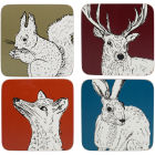 Buy Creative Tops Into The Wild Coaster Mixed Set of 4 Into The Wild at Louis Potts