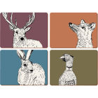 Buy Creative Tops Into The Wild Placemat Set of 4 Into The Wild at Louis Potts