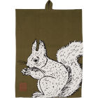 Buy Creative Tops Into The Wild Tea Towel Squirrel Into The Wild at Louis Potts