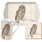 Buy Creative Tops Into The Wild Time For Tea Set Tawny Owl Snow Scenes at Louis Potts