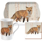 Buy Creative Tops Into The Wild Time For Tea Set Winter Fox Snow Scenes at Louis Potts