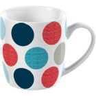 Buy Creative Tops Mug Collection Mug Barrel Spot Blue at Louis Potts