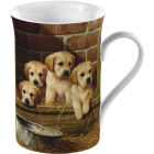 Buy Creative Tops Mug Collection Mug Labrador Pups at Louis Potts
