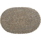 Buy Creative Tops Naturals Water Hyacinth Grey Rectangular Mat 45cm at Louis Potts