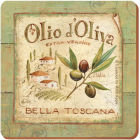 Buy Creative Tops Olio d'Oliva Coaster Premium Set of 6 at Louis Potts