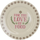 Buy Creative Tops Stir It Up Side Plate Celebrate For The Love Of Food at Louis Potts