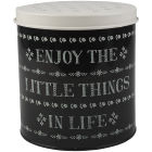 Buy Creative Tops Stir It Up Storage Tin Round Little Things at Louis Potts