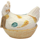 Buy Fairmont and Main Ducks & Hens Henrietta the Hen Egg Basket  at Louis Potts