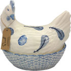 Buy Fairmont and Main Ducks & Hens Sarah the Hen Egg Basket  at Louis Potts
