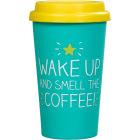 Buy Happy Jackson Happy Jackson Travel Mug Smell The Coffee at Louis Potts