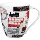 Buy James Sadler James Sadler Large Mug London Life at Louis Potts