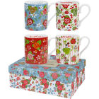Buy Julie Dodsworth Julie Dodsworth Small Mug Set of 4 Vintage Floral at Louis Potts