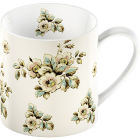 Buy Katie Alice Cottage Flower Can Mug Cream Floral at Louis Potts