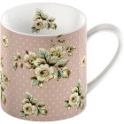 Buy Katie Alice Cottage Flower Can Mug Pink Floral at Louis Potts