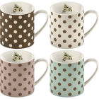 Buy Katie Alice Cottage Flower Can Mug Spot Set of 4 at Louis Potts