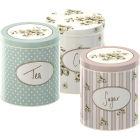Buy Katie Alice Cottage Flower Storage Tin Set of 3 at Louis Potts